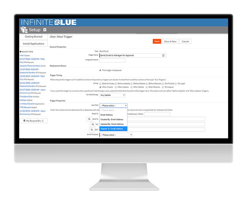 Infinite Blue Platform